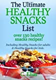 By C Elias The Ultimate Healthy Snack List including Healthy Snacks for Adults & Healthy Snacks for Kids: Disco [Paperback]