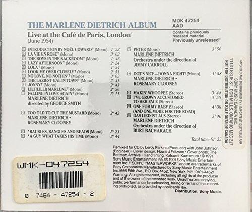 Album / Live at Cafe De Paris by Sony (Image #1)