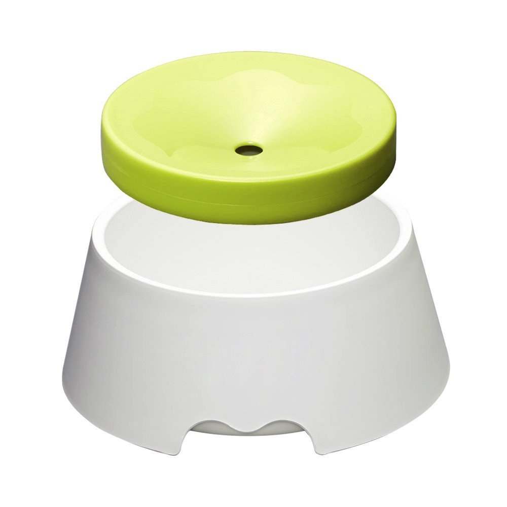 2 in 1 Innovative Anti-Spill No Spill Dripless Water Food Bowl for Dogs and Cats Anti-Dust Proof System