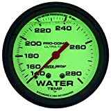 Auto Meter 4235 Ultra-Nite Water Temperature Gauge