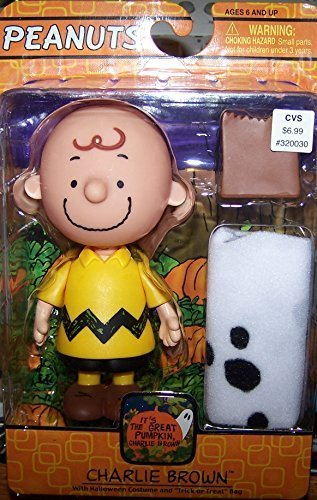 Charlie Brown with Halloween Costume and Trick or Treat Bag - CVS 2005 by (Cvs Halloween Costumes)