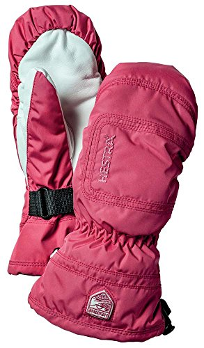 Hestra 32621 Women's Czone Powder Mitt, Fuchsia/Off White - 8