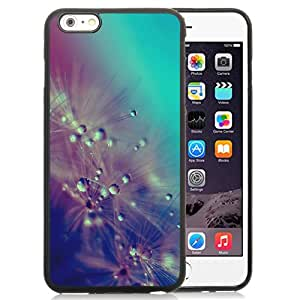 Dandelion Water Drops Closeup Silicone TPU iPhone 6plus 5.5 Inch Protective Phone Case