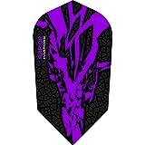 5 x Sets Harrows Rapide X Purple Dart Flights Slim