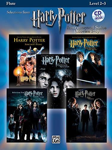 (Harry Potter Instrumental Solos (Movies 1-5): Flute, Book & CD (Pop Instrumental Solos Series))