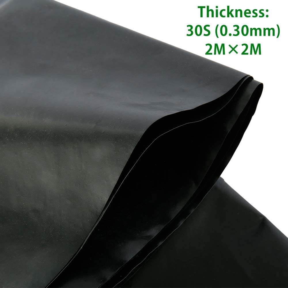Pond Liners Heavy Duty Fish Pond Bed Liners Garden Pool Membrane Reinforced Landscaping Reservoir River Slope Protection Foundation Construction Proof Moisture 0.3MM, 3M x 2M