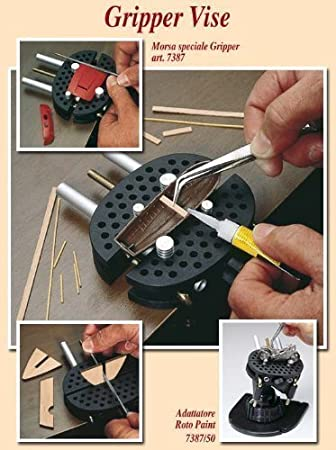 New Mini Vise Holds Odd Shaped Parts Delicately Modeling Sculpting Tools