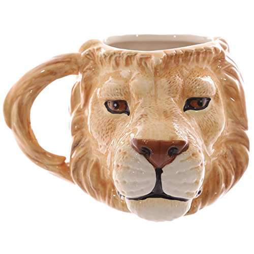 品揃え豊富で Egg n Mug Chips Novelty London - Novelty Lion Head Shaped n Mug B01DXXRNJQ, 志波姫町:a77496ac --- a0267596.xsph.ru