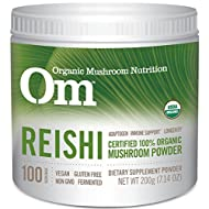 Om Organic Mushroom Supplement, Reishi, 200 grams