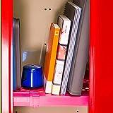 LockerMate Adjust-A-Shelf Locker Shelf, Easy to