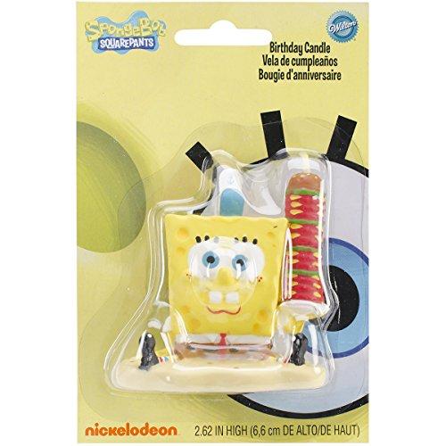 Wilton SpongeBob SquarePants Candle