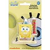 Wilton SpongeBob SquarePants Candle