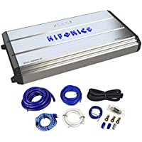 Hifonics Zeus ZXX-3200.1D 3200 Watt RMS Mono Class D Car Audio Amplifier+Amp Kit