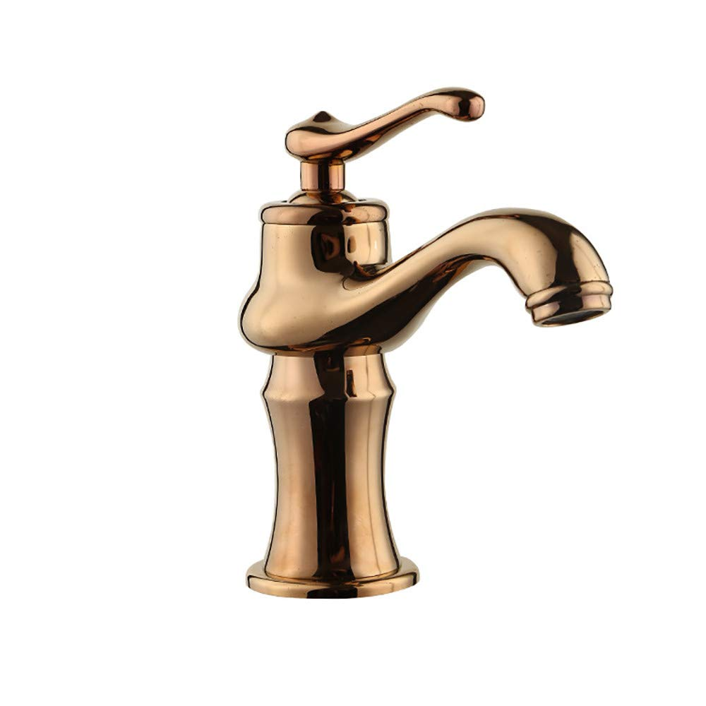 Hlluya Professional Sink Mixer Tap Kitchen Faucet All copper mixing of hot and cold water basin mixer