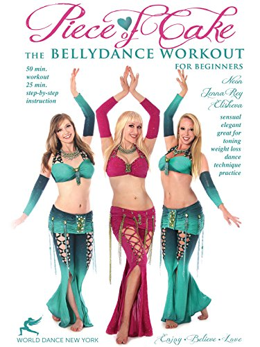 Piece of Cake - The Bellydance Workout for Beginners, with Neon - belly dance instruction & workout (Neon Cakes)