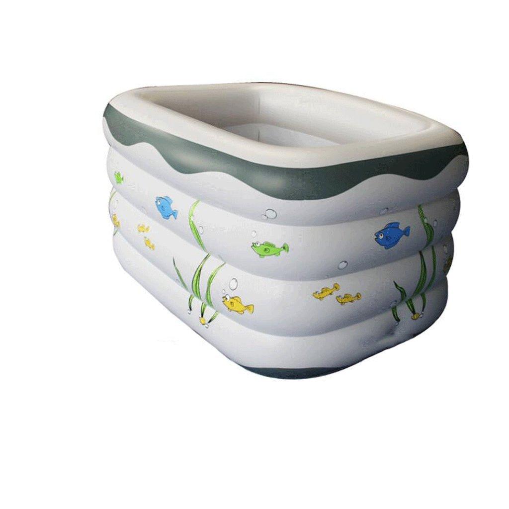 QZz Home® Aufblasbares Baby-Pool Home Erwachsenen-Baby-Schwimmbad Verdicken Familie Kinderbecken Wanne