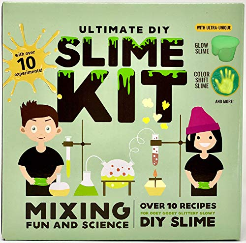 Baby Mushroom Ultimate Slime Kit - 10 Slimy Science Experiments | Fun and Educational DIY Project.