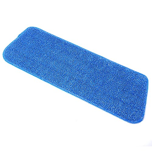 Microfiber Mop Pads, Yamix Set of 5 Hardwood and Floor Microfiber Spray Mop Pads Cleaning Pad Mop Refill Replacement Heads for Wet/Dry Mops,Spray and Spin Magic Mop - Blue by Yamix (Image #4)