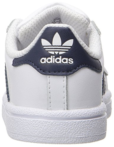 Navy Gold Trainers Metallic Collegiate Originals adidas Boys' Superstar White cpwvnY6q