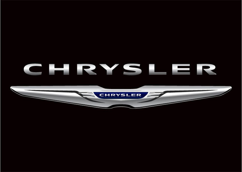 NEOPlex Chrysler Auto Logo with Words Traditional Flag F-1840