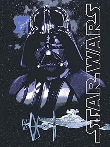 Disney Star Wars Darth Vader Dark Lord Super Soft Plush Oversized Twin Throw Blanket by Disney