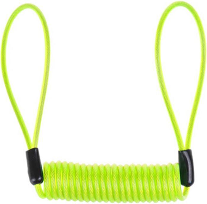 PIXNOR Cable de Candado Cadena de Candado para Moto Bicicleta 1.2 M (Verde Claro)