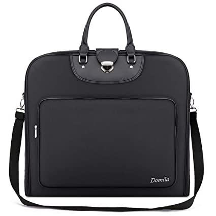 Domila 44-Inch Garment Bag 3 Suit Dress Carry-on Zip Garment Bags ... fb6b06752a8ef