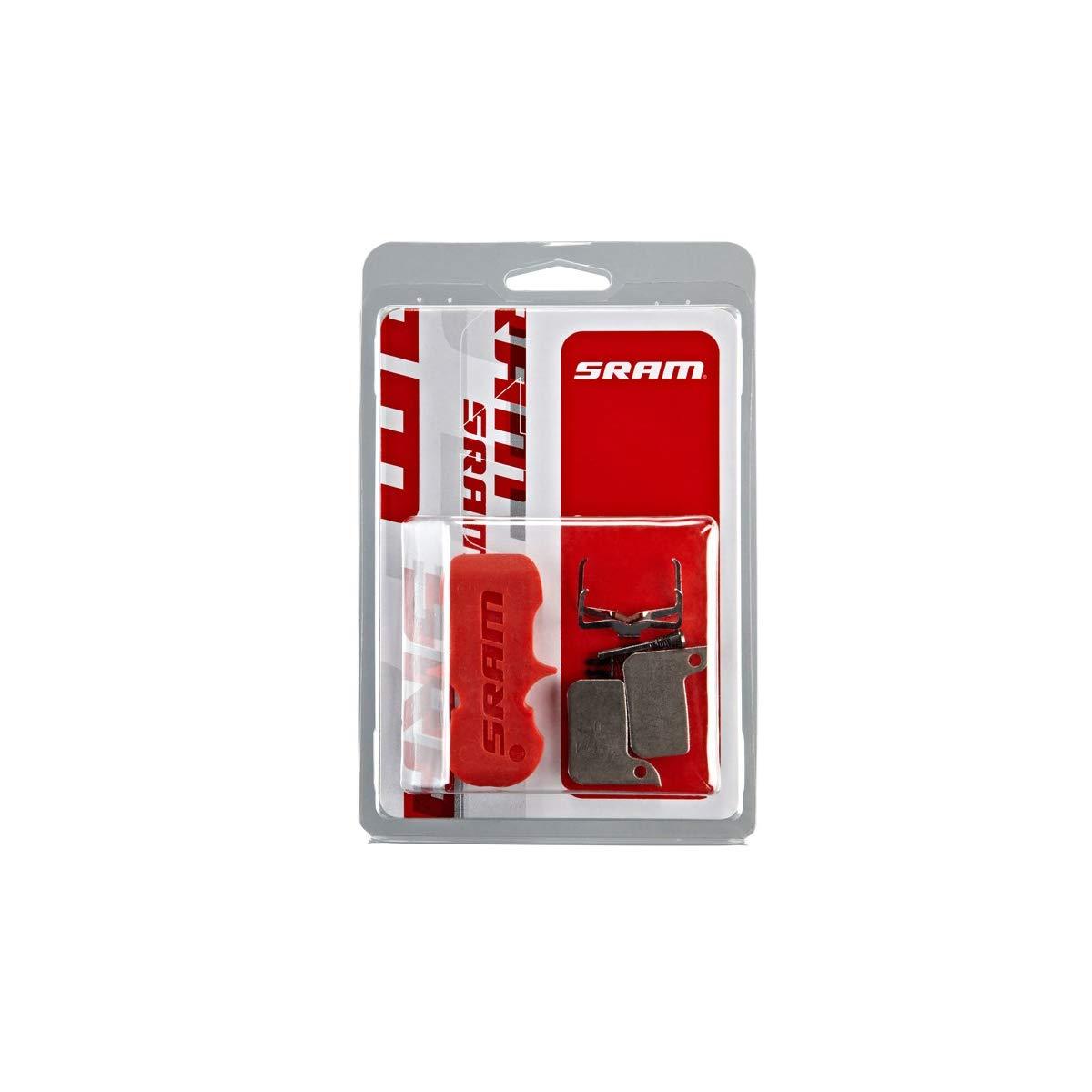 SRAM Hydraulic Road Disc Level ULT//TLM Organic//Steel Brake Pad w//o Spring /& Pin