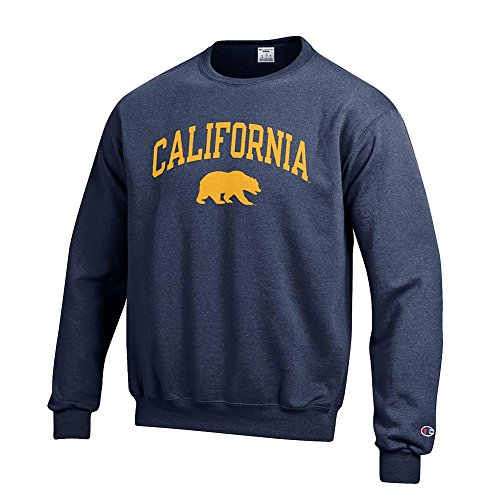 California Golden Bears Crewneck Sweatshirt Varsity Navy - L