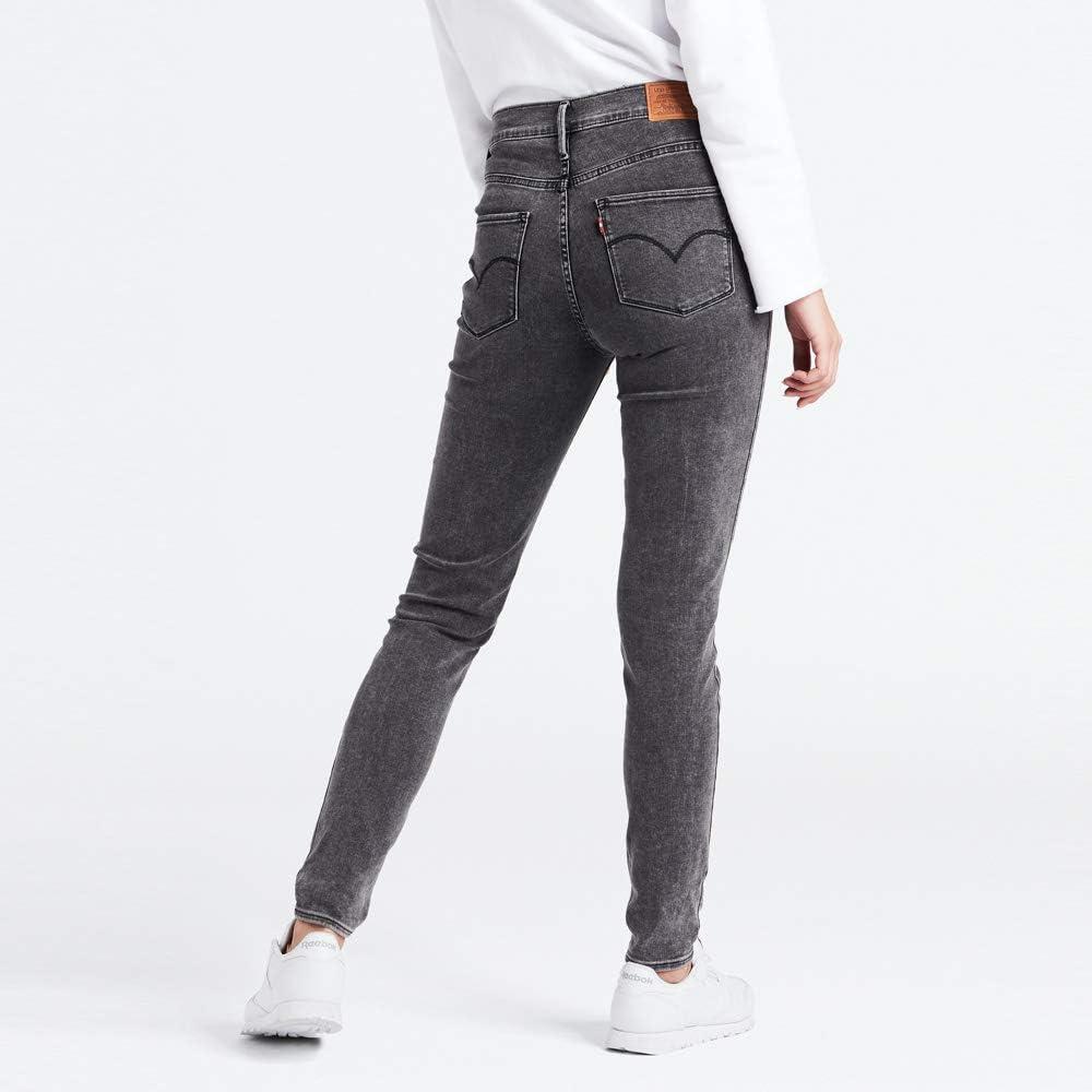 Levi's Dames Jeans 720 Hirise Super Skinny W zwart Hash It Out