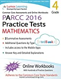 Common Core Assessments and Online Workbooks: Grade 4 Mathematics, PARCC Edition: Common Core State Standards Aligned