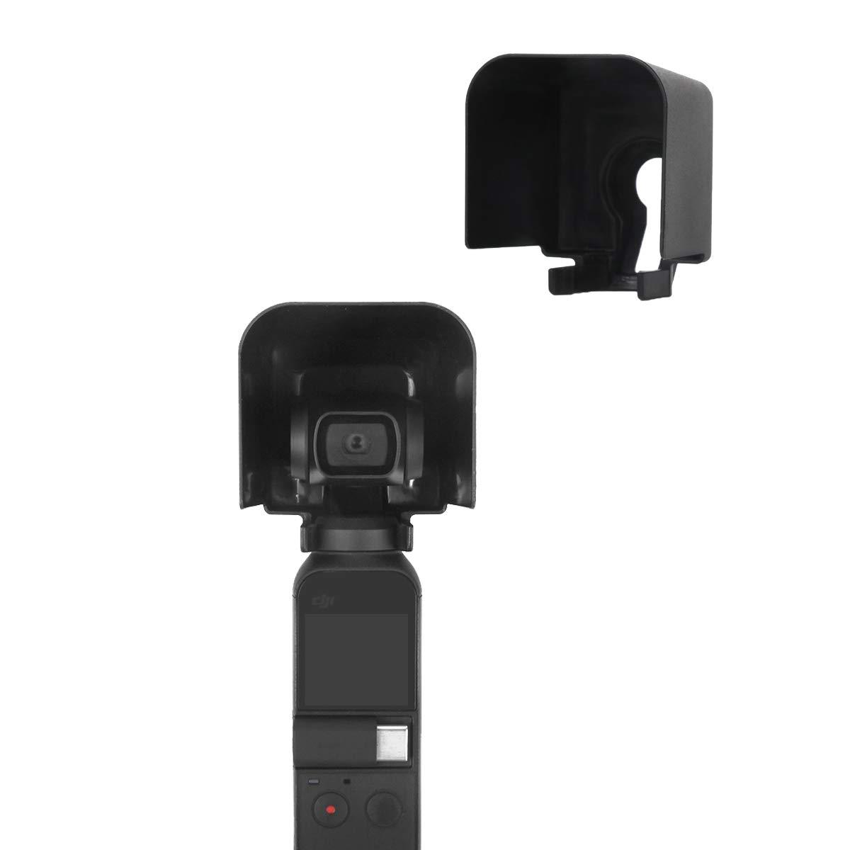 Tineer Handheld Gimbal Camera Lens Parasole copri-cap coperchio Parasole protettivo per DJI OSMO Pocket PTZ Camera Accessorio