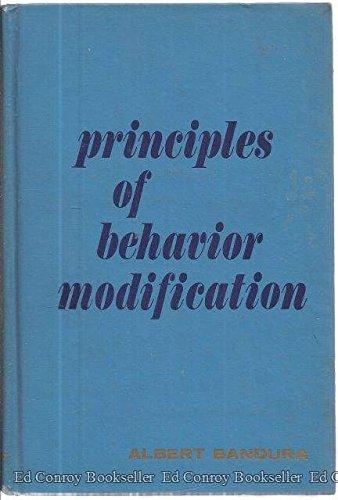 Principles of Behavior Modification