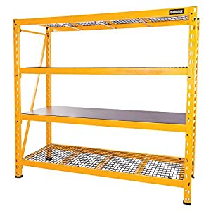 Amazon Com Dewalt Dxst10000 72 Quot X77 Quot X24 Quot 4 Shelf Steel