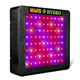 MarsHydro MARSII 400 Led Grow Light Full Spectrum High Penentration 187W True Watt Panel Led Grow Lamp Light & Lighting with Dual Veg/Flower Spectrum