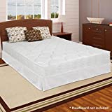 Best Price Mattress 8-Inch Independent Operating icoil Mattress – Pocket Coil Spring Mattress and New Innovated Box Spring Platform Metal Bed Frame/Foundation Set, Full