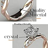 Brishow Engagement Rings Stainless Steel Ring