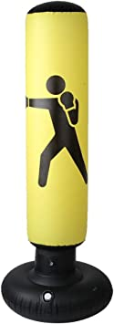 Vobor 160cm PVC Fitness Boxeo Inflable Saco de Arena Columna Tumbler Saco de Arena para Adultos Niños
