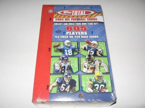 Card Topps Total Football - 2004 Topps Total Football Box
