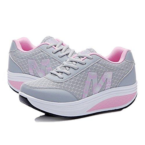 Zapatillas XMeden de Rx2716 Grey para running mujer ZwHS6q4