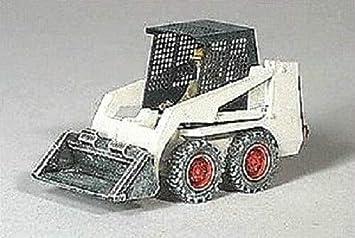 /Échelle H0 Mat/ériau De Construction En M/étal Bulldozer