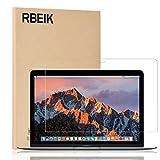 RBEIK MacBook 12 Screen Protector Tempered Glass, Premium 9H Tempered Glass Screen Protector for New MacBook 12 Inch (2015 / 2016 / 2017 Release)
