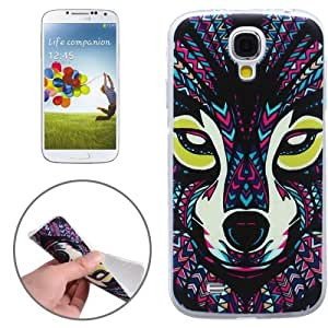 Ultra-Thin Ryan Pattern Transparent Frame TPU Protective Case Cover Carcasa Para Samsung Galaxy S4 i9500