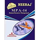 MPA14-Human Resource Management (IGNOU help book for MPA-14 in English Medium)