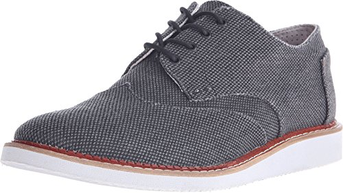 (TOMS Men's Brogue Black Farren Oxford 7 D (M))
