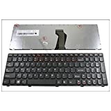 Genuine New US Laptop keyboard for Lenovo Z570 V570 B570 B570A B570G B575 V570C Black (black Frame) || 25-013358 V-117020FS1-US V117020FS1 25-011847 9Z.N5SSW.C01 25-013328 9Z.N5SSW.A01