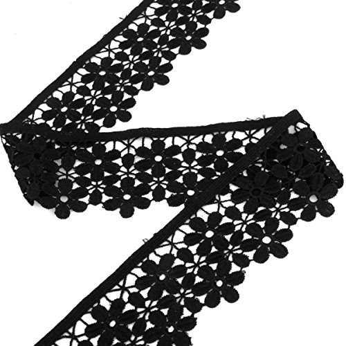 PIXNOR Decorating Embroidered Flower Edging