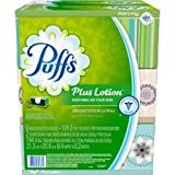 Facial Tissue Allergy - Puffs Plus Lotion Facial Tissues Family Box, 6ct Soothing Lotion with Aloe, Vitamin E, and Shea Butter