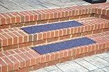 """Dean Indoor/Outdoor Non Skid Stair Treads - Blue 36"""" x 9"""" (3)"""