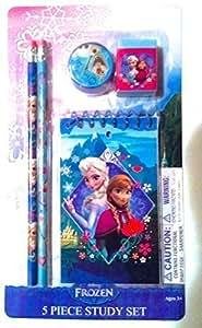 Amazon.com: Disney Frozen Elsa and Anna 5-Piece Princess Scholar-Study